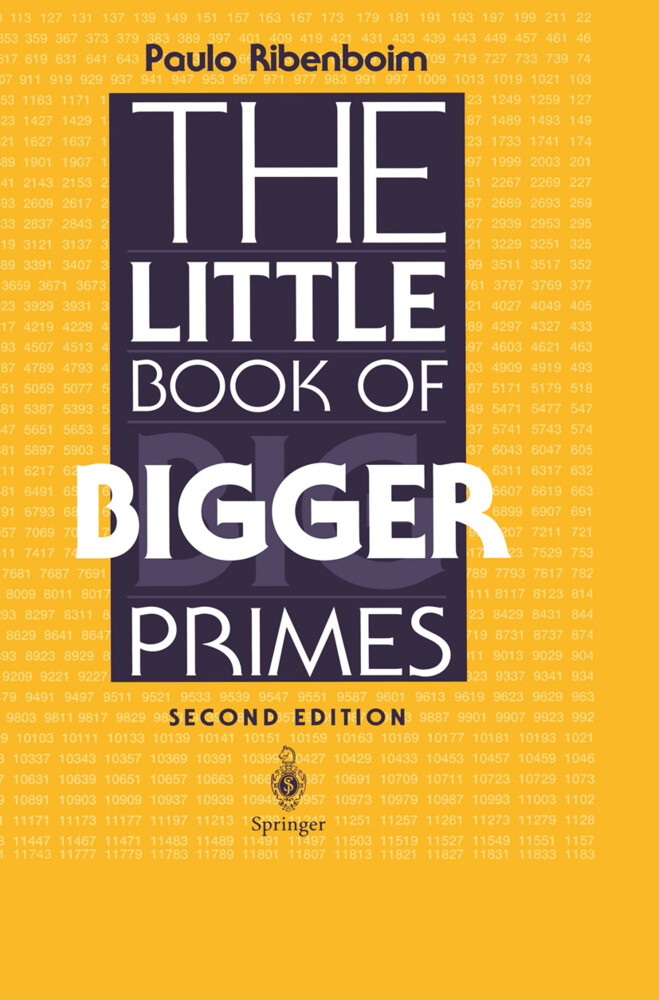 The Little Book of Bigger Primes als Buch
