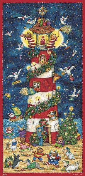 Weihnacht am Leuchtturm Adventskalender als Kalender