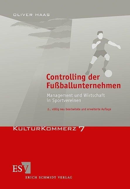 Controlling der Fußballunternehmen als Buch