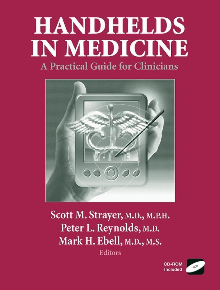 Handhelds in Medicine als Buch