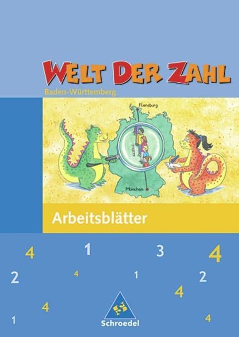 Welt der Zahl 4. Arbeitsheft. Baden-Württemberg als Buch
