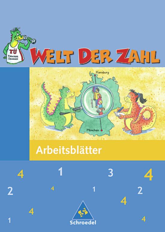Welt der Zahl 4. Arbeitsheft. Neubearbeitung. Berlin, Brandenburg, Mecklenburg-Vorpommern, Thüringen als Buch