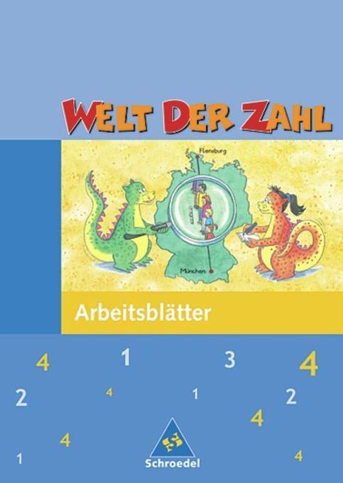 Welt der Zahl 4. Arbeitsheft. Hessen, Rheinland-Pfalz, Saarland. Neubearbeitung als Buch