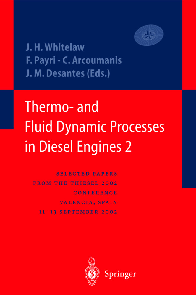 Thermo- and Fluid Dynamic Processes in Diesel Engines 2 als Buch