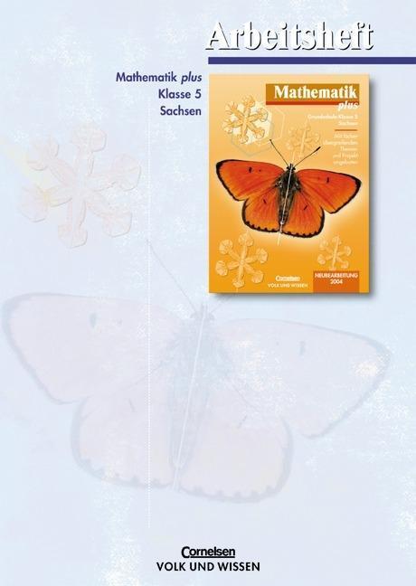 Mathematik plus 5. Arbeitsheft. Sachsen. Neubearbeitung als Buch