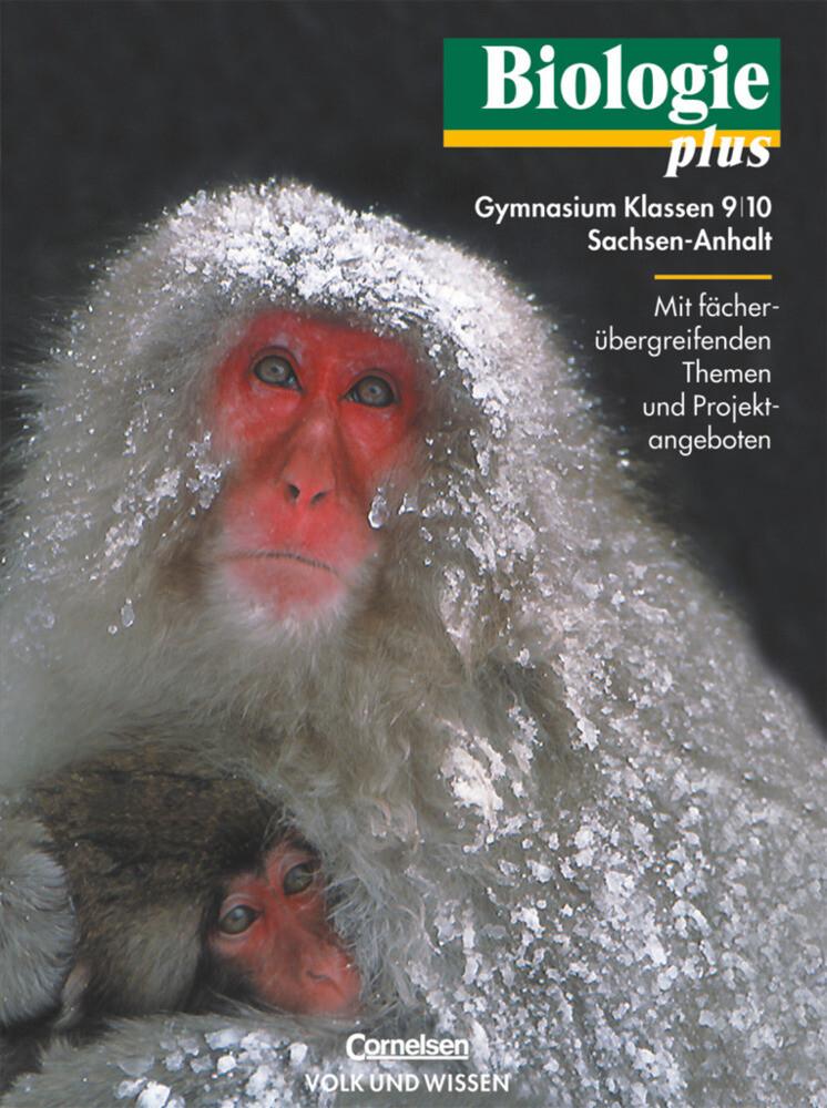 Biologie plus 9/10. Lehrbuch. Gymnasium Sachsen-Anhalt als Buch
