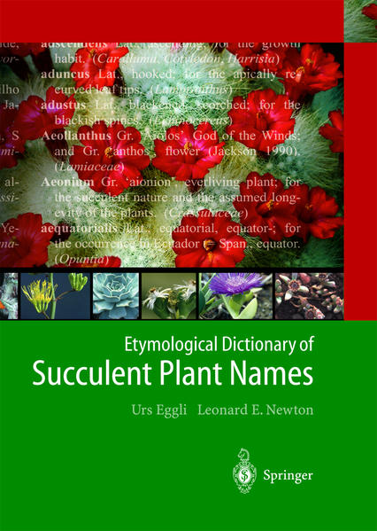 Etymological Dictionary of Succulent Plant Names als Buch