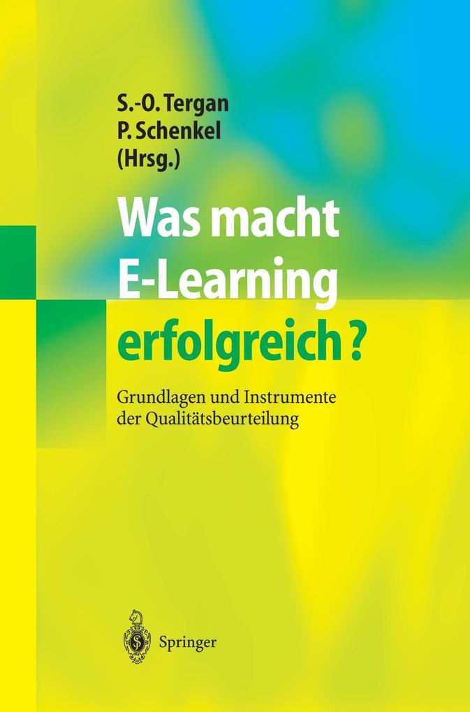 Was macht E-Learning erfolgreich? als Buch