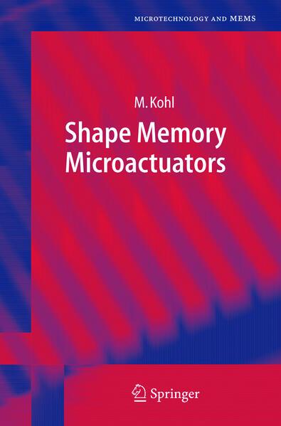 Shape Memory Microactuators als Buch