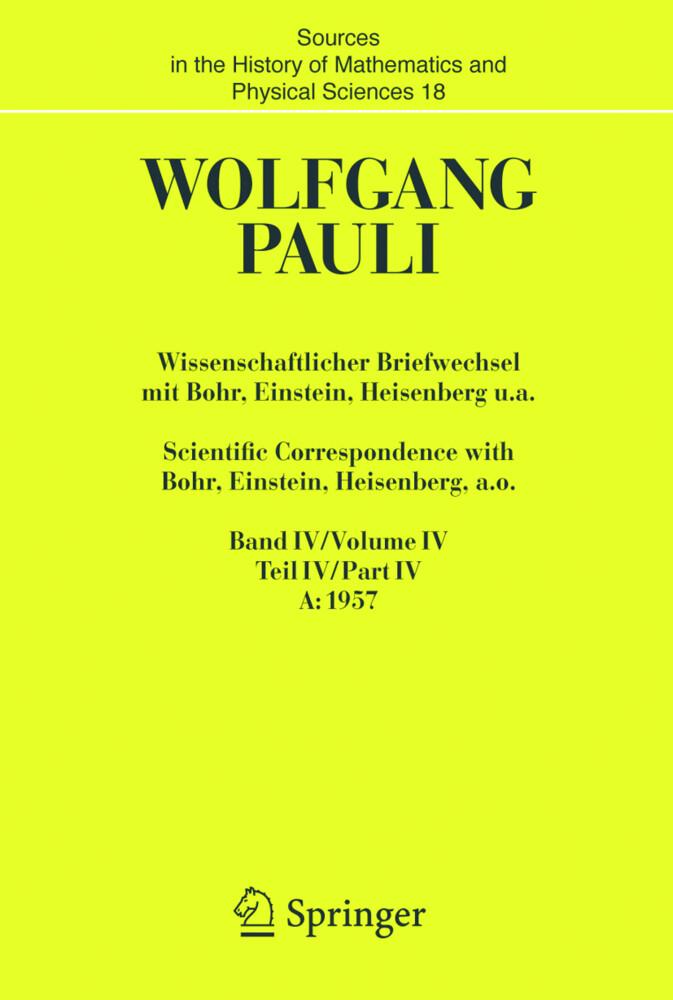 Wissenschaftlicher Briefwechsel mit Bohr, Einstein, Heisenberg u.a. 2 Bände als Buch