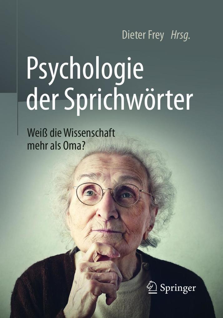 Psychologie der Sprichwörter als eBook Download...