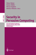 Security in Pervasive Computing