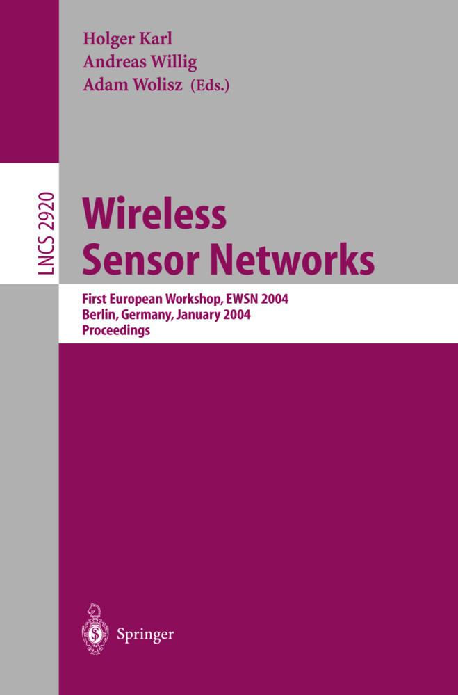 Wireless Sensor Networks als Buch