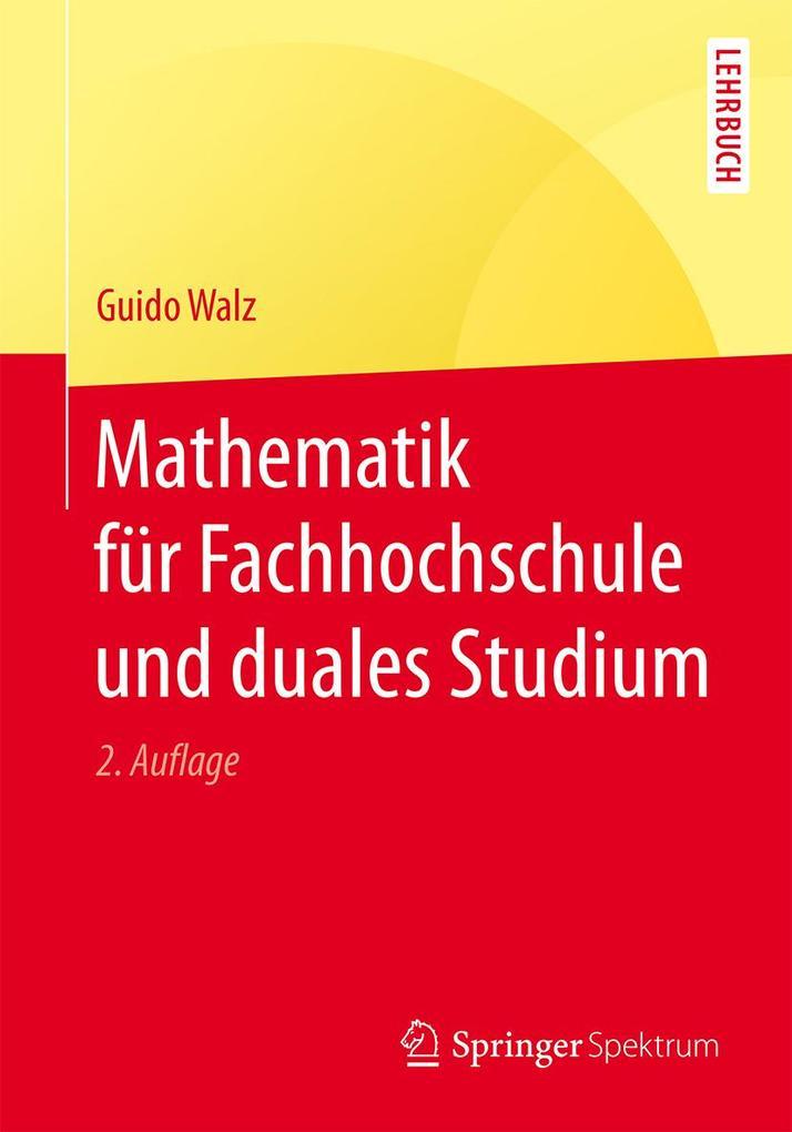 Mathematik für Fachhochschule und duales Studium als eBook