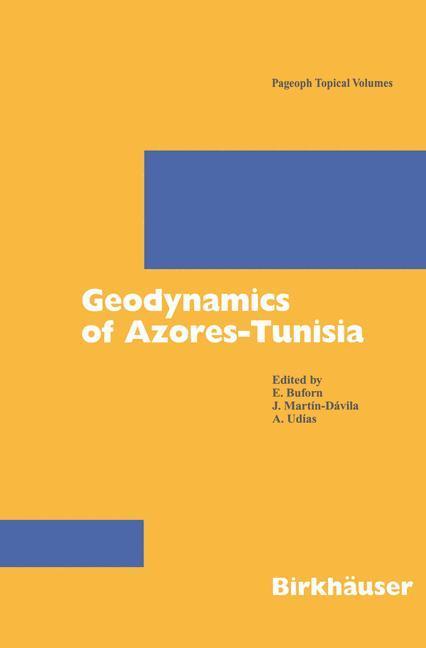 Geodynamics of Azores-Tunisia als Buch
