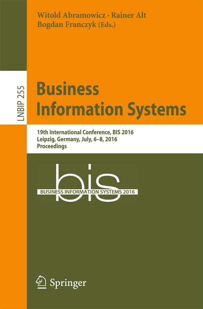 Business Information Systems als eBook Download...