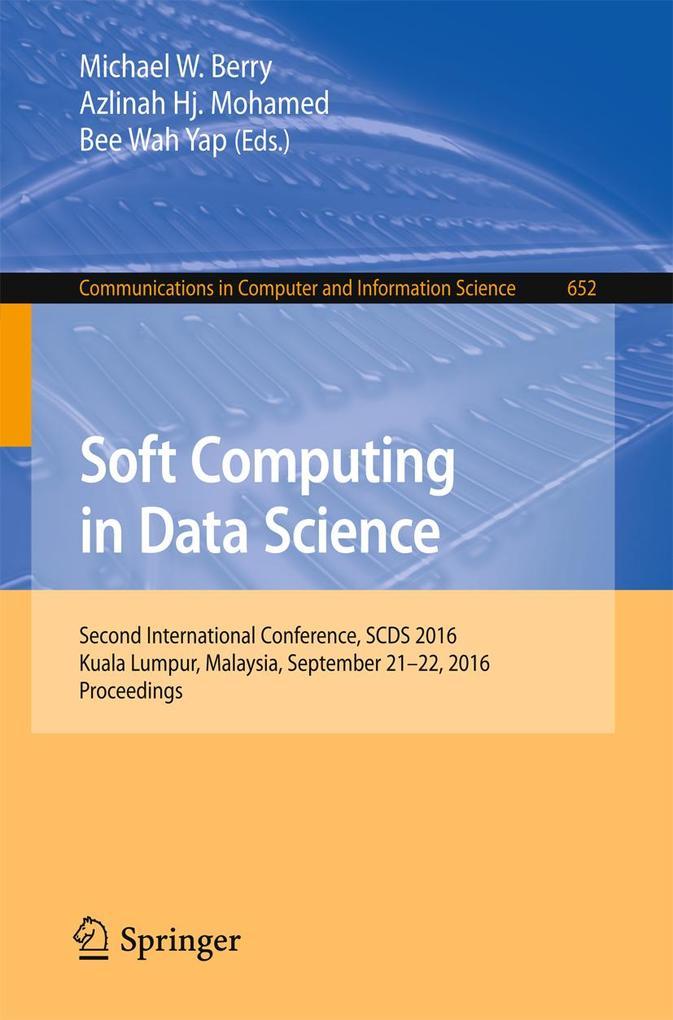 Soft Computing in Data Science als eBook Downlo...