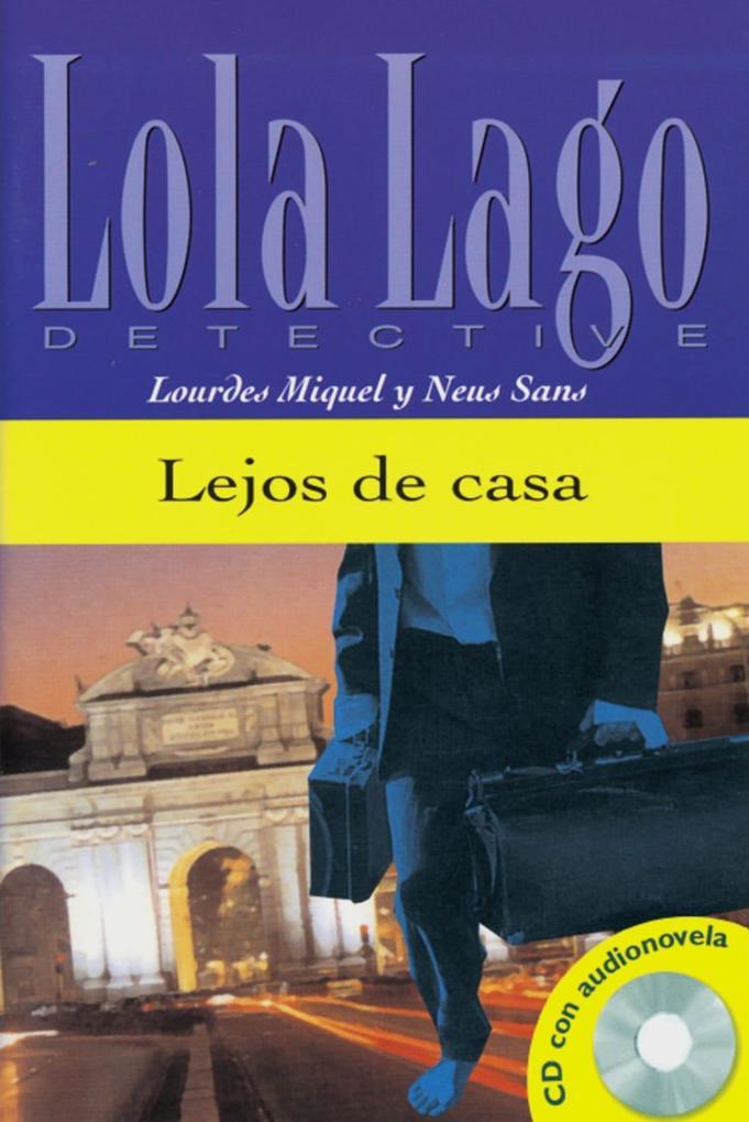 Lejos de casa. Buch und CD als Buch