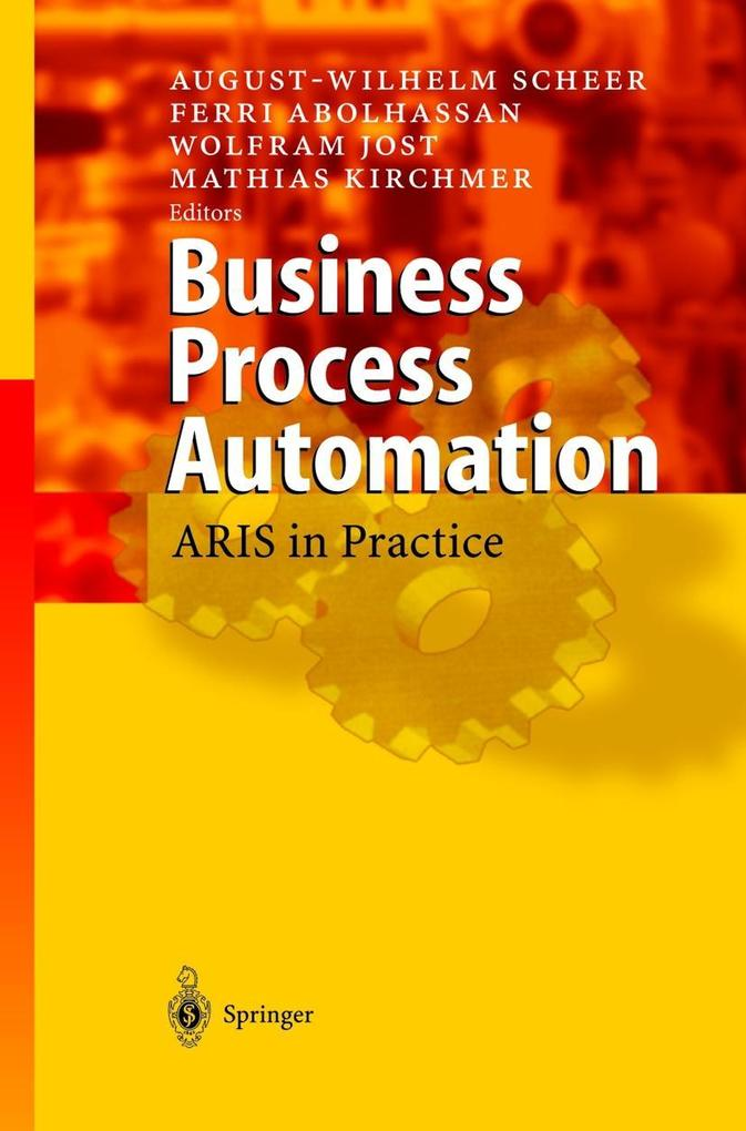 Business Process Automation als Buch
