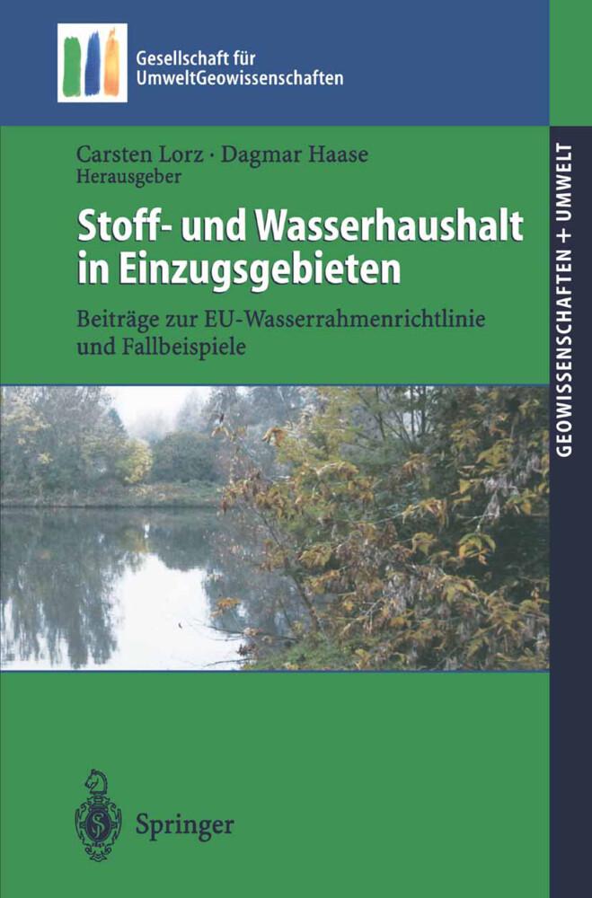 Stoff- und Wasserhaushalt in Einzugsgebieten als Buch