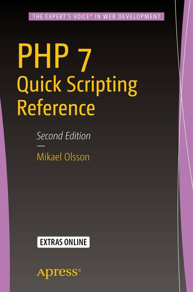 PHP 7 Quick Scripting Reference als eBook Downl...