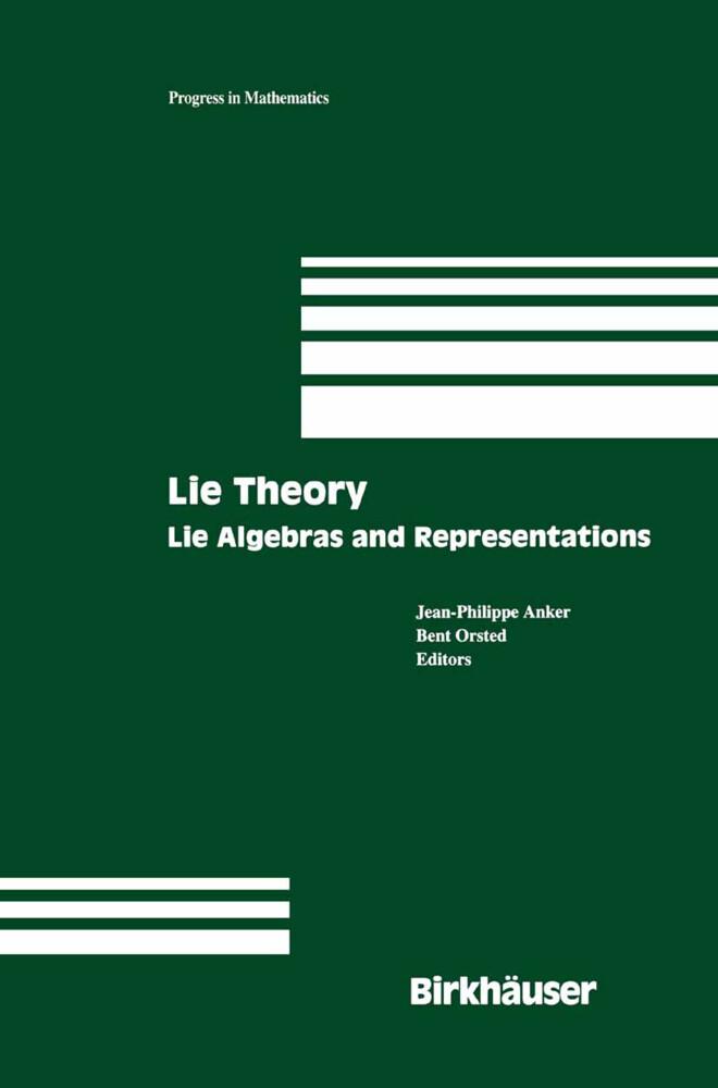 Lie Theory als Buch