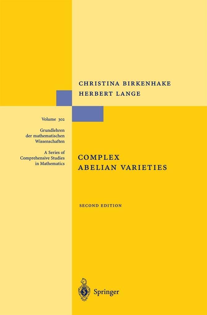 Complex Abelian Varieties als Buch