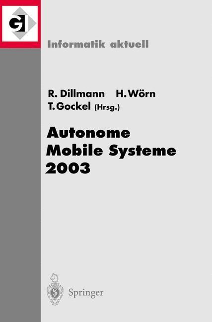 Autonome Mobile Systeme 2003 als Buch