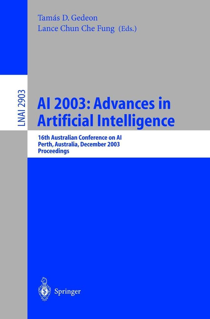 AI 2003: Advances in Artificial Intelligence als Buch