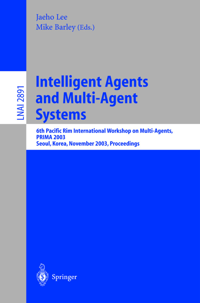 Intelligent Agents and Multi-Agent Systems als Buch