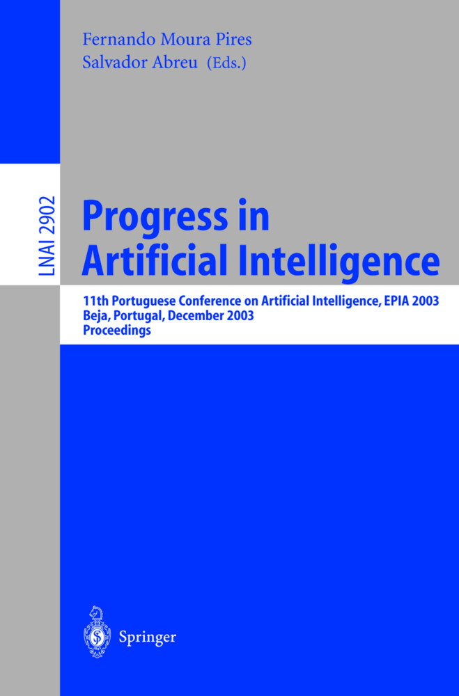Progress in Artificial Intelligence als Buch (kartoniert)