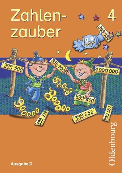 Zahlenzauber D 4. Schülerbuch als Buch