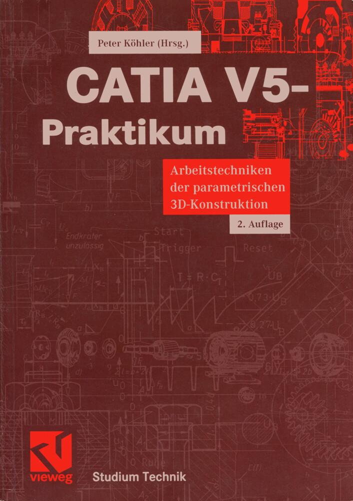 CATIA V5-Praktikum als Buch