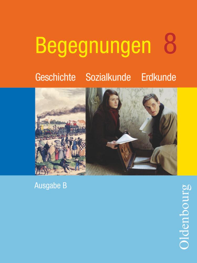 Begegnungen B 8. Neu. Bayern als Buch