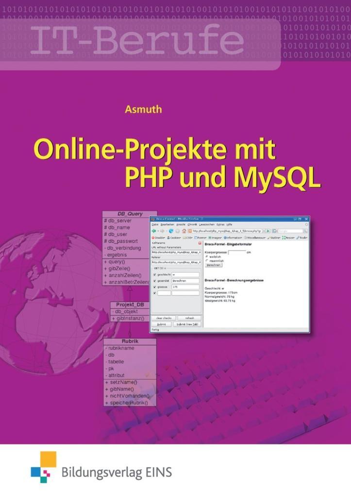 Online-Projekte mit PHP und MySQL als Buch