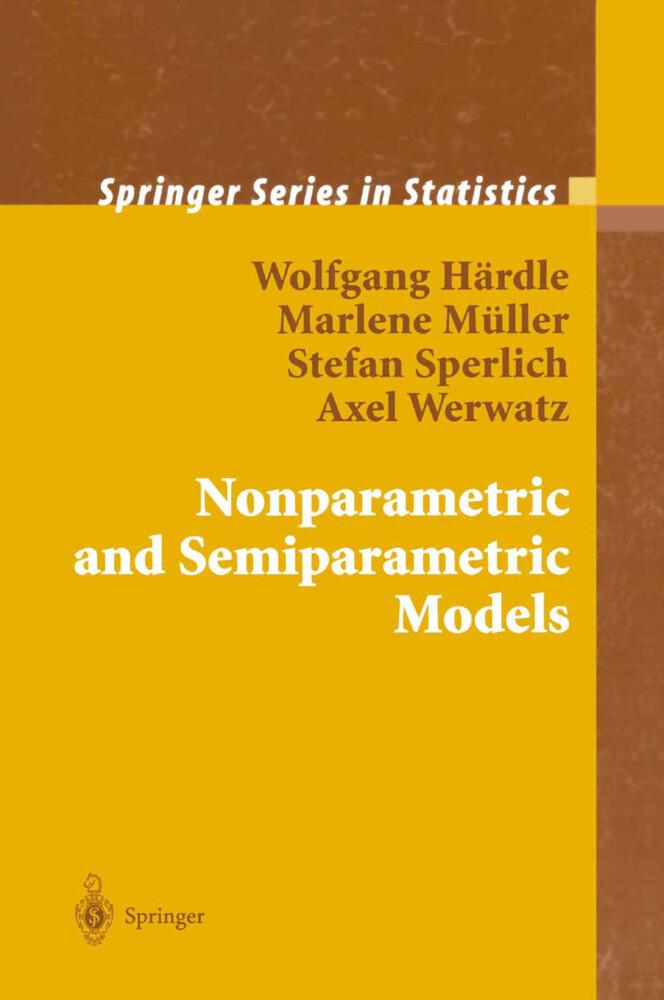 Nonparametric and Semiparametric Models als Buch