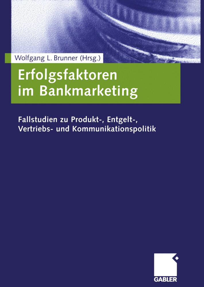 Erfolgsfaktoren im Bankmarketing als Buch