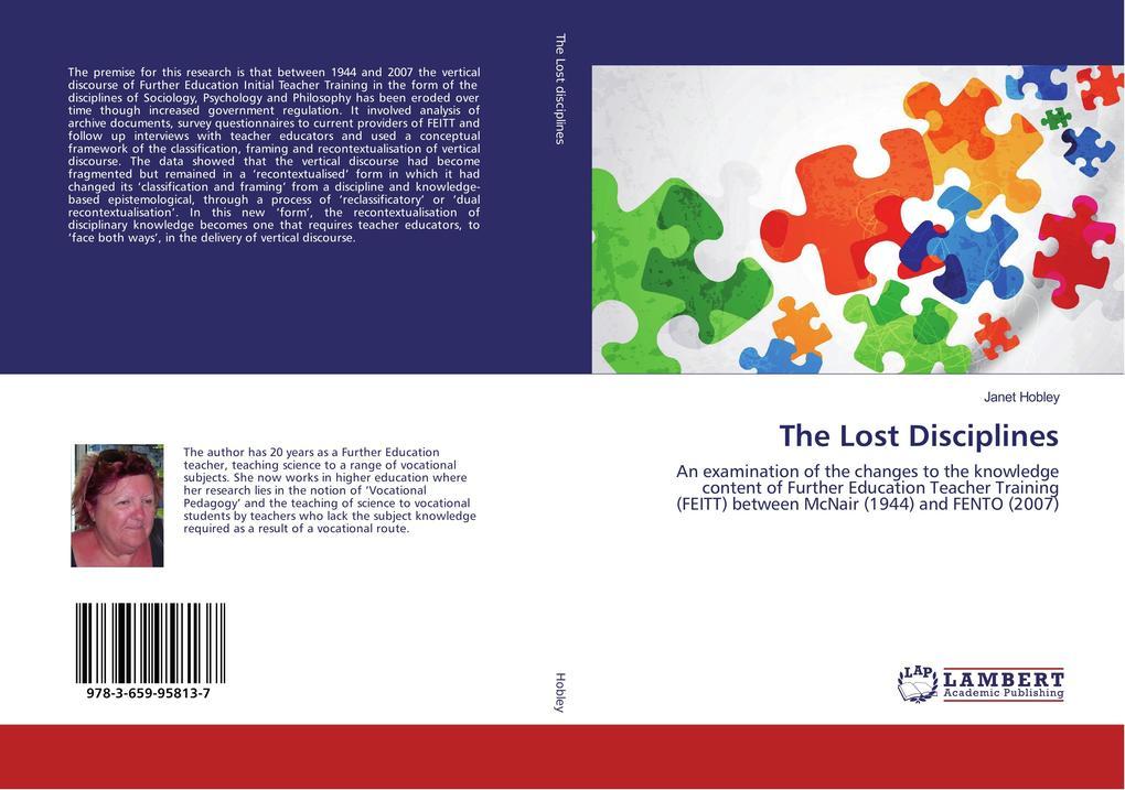 The Lost Disciplines als Buch von Janet Hobley