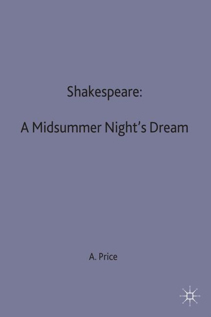 Shakespeare: A Midsummer Night's Dream als Buch