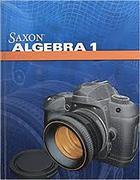 SAXON ALGEBRA 1 4/E