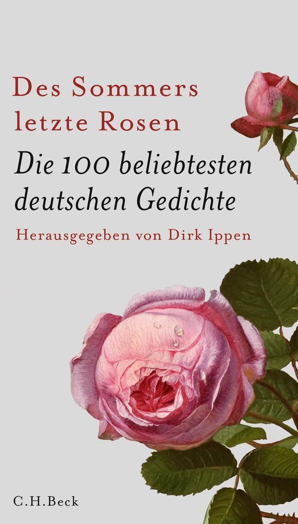 Des Sommers letzte Rosen als Buch