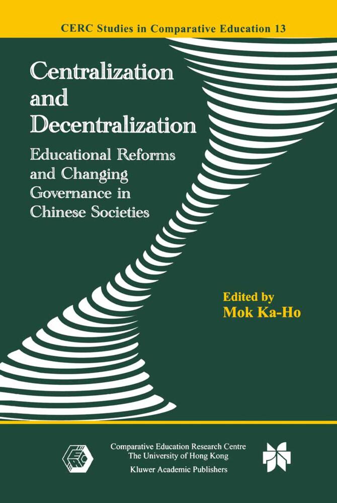 Centralization and Decentralization als Buch (gebunden)
