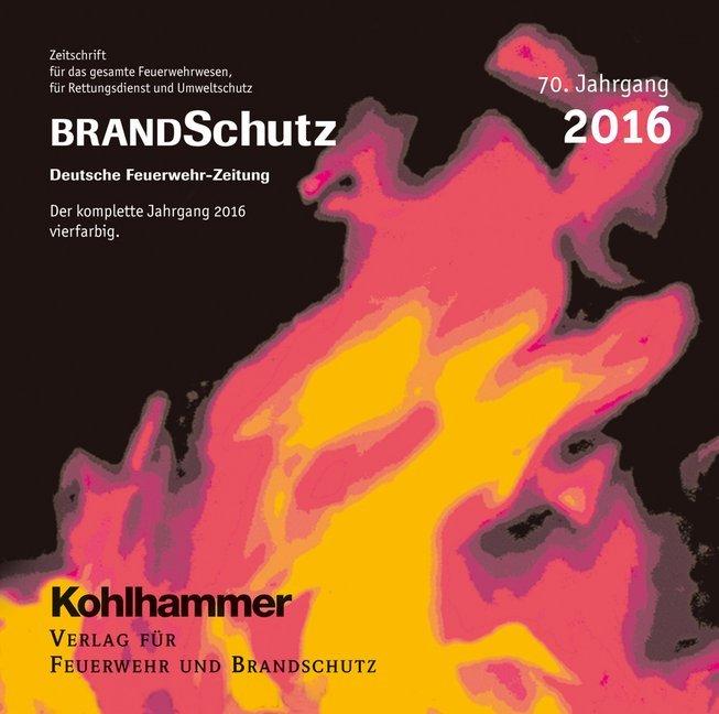 BRANDSchutz 2016 auf CD-ROM