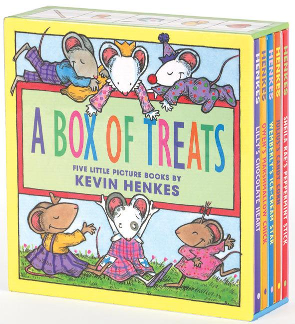A Box of Treats: Five Little Picture Books about Lilly and Her Friends als Buch (gebunden)
