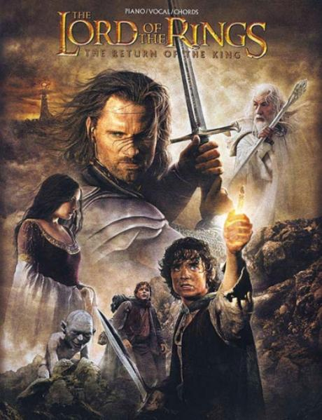 The Lord of the Rings the Return of the King: Piano/Vocal/Chords als Taschenbuch