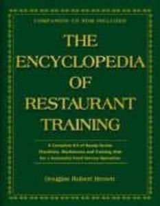 The Encyclopedia of Restaurant Training als Buch