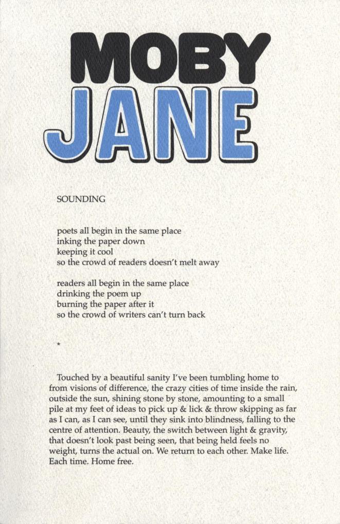 Moby Jane als Taschenbuch