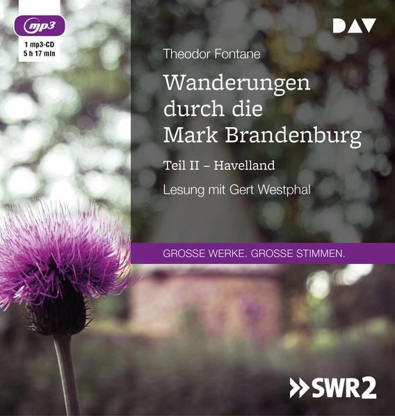 Wanderungen durch die Mark Brandenburg - Teil II als Hörbuch CD