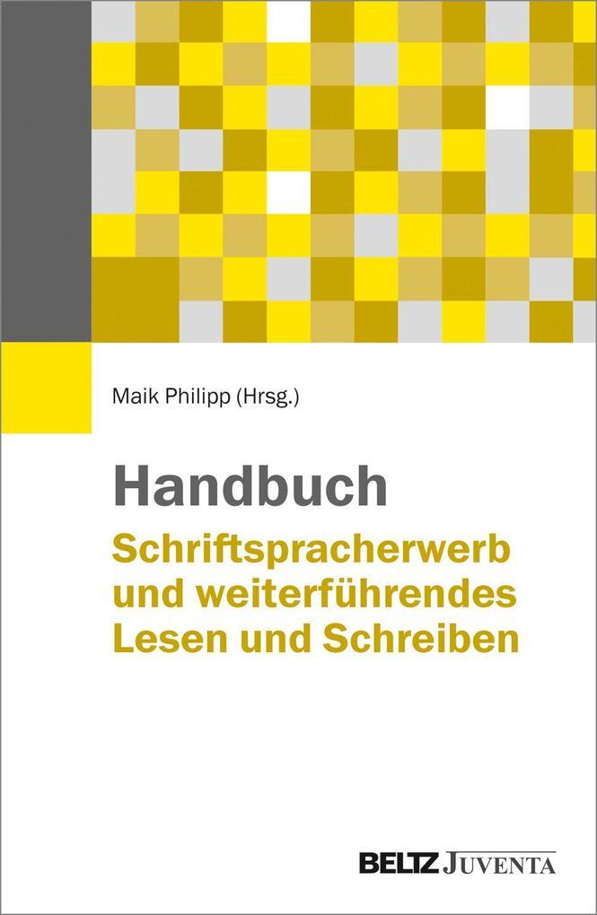 Handbuch Schriftspracherwerb und weiterführende...