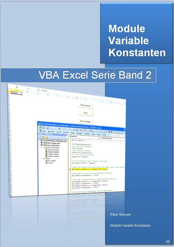 Programmierung in Excel mit VBA als eBook Downl...